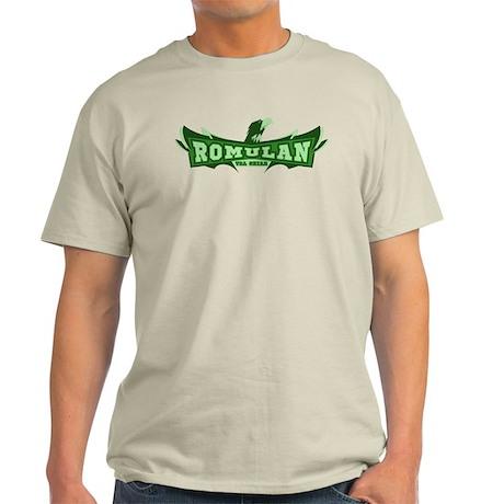 Romulan Tal Shiar Sports Logo Light T-Shirt