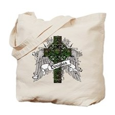 Douglas Tartan Cross Tote Bag