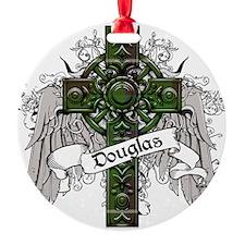 Douglas Tartan Cross Ornament