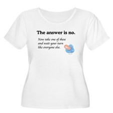 The Answer is NO T-Shirt