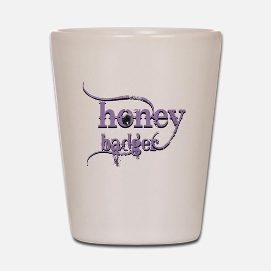 Honey badger Shot Glass