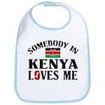 Somebody In Kenya Bib