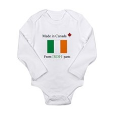Made in Canada Irish Body Suit