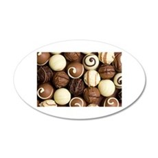 chocolateholic Wall Decal