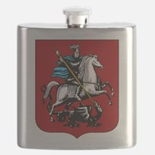 Moscow Emblem (simple) Flask
