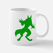 Green Werewolf Mug