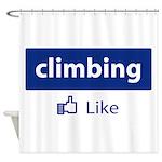 Like Climbing Shower Curtain