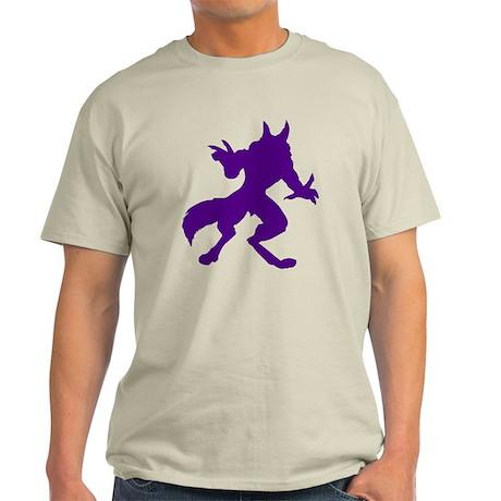 Purple Werewolf Light T-Shirt