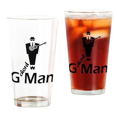 G Chord Man Drinking Glass