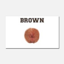 Brown Car Magnet 20 x 12