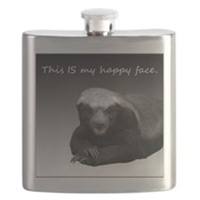 This is my happy face Flask