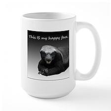 This is my happy face Ceramic Mugs