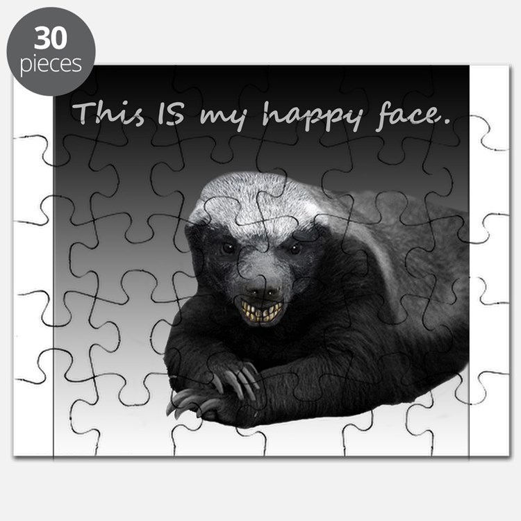 This is my happy face Puzzle