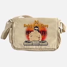 DJ Baby Bok Choy Messenger Bag