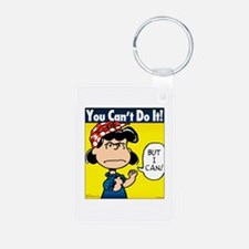 You Can't Do It Keychains