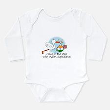 stork baby india2 Body Suit