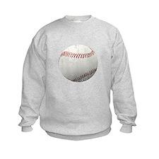 Baseball Distressed Sweatshirt