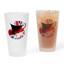 Union Jack Cup of Tea Drinking Glass