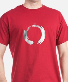 White Enso Circle - Zen T-Shirt