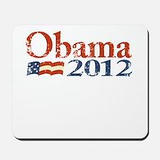 Obama 2012 Faded Mousepad