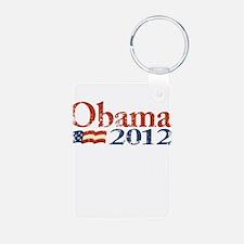 Obama 2012 Faded Keychains