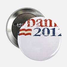 """Obama 2012 Faded 2.25"""" Button"""