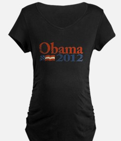 Obama 2012 Faded T-Shirt