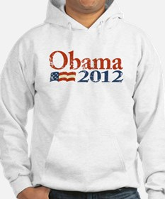 Obama 2012 Faded Hoodie