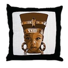 Queen's Crib Throw Pillow