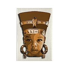Bronze Queen Rectangle Magnet