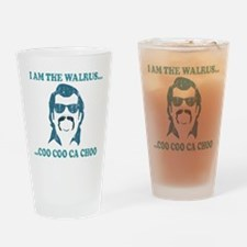 I am the Walrus Drinking Glass