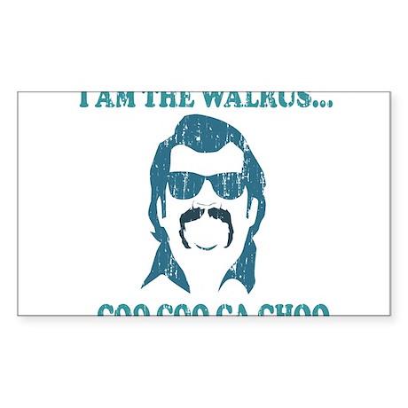 I am the Walrus Sticker (Rectangle)