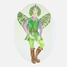 Rosemary Fairy Ornament (Oval)