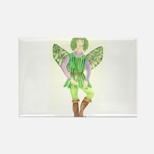 Rosemary Fairy Rectangle Magnet