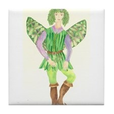 Rosemary Fairy Tile Coaster