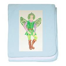 Rosemary Fairy baby blanket