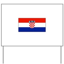 Croatiablankblack.png Yard Sign