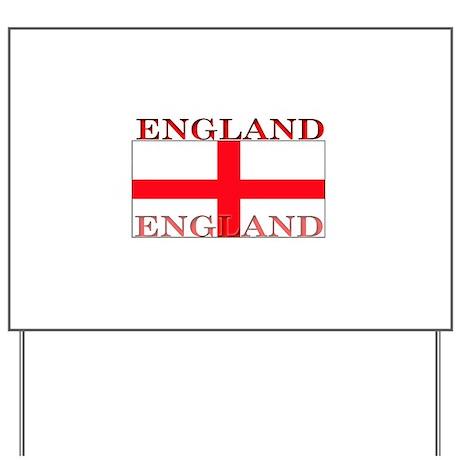 Englandjpg Yard Sign by allflags