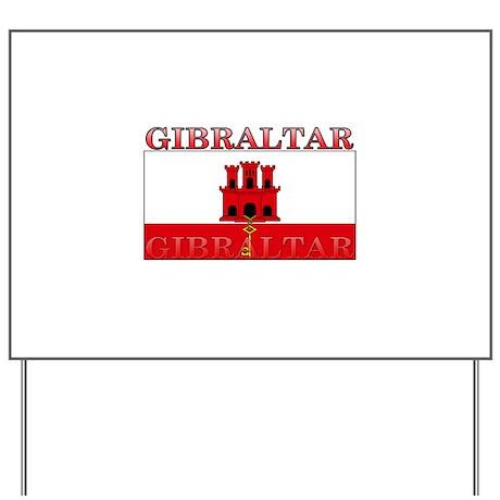 Gibraltar.jpg Yard Sign