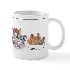 Hot Coffee, Hot Chocolate, And Snacks. Mug