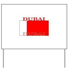 Dubai.png Yard Sign