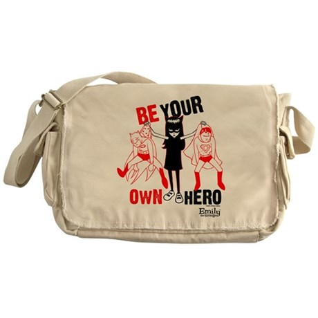 Be Your Own Hero Messenger Bag