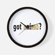 got anime? Wall Clock