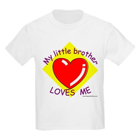 "Kids T-Shirt ""My little brother..English"