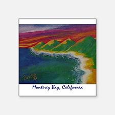"Monterey Bay 700.jpg Square Sticker 3"" x 3"""