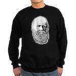 Charles Darwin Sweatshirt (dark)