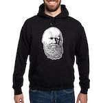 Charles Darwin Hoodie (dark)