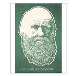 Charles Darwin Small Poster
