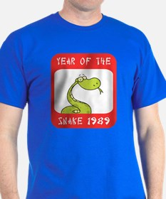 Year of The Snake 1989 T-Shirt