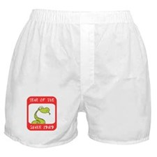 Year of The Snake 1989 Boxer Shorts